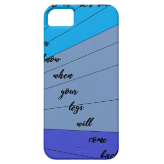 swim like a mermaid you never know when your legs iPhone 5 case