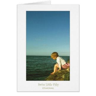Swim Little Fishy Card