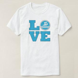 Swim Love Men's T-shirt for Swimmers