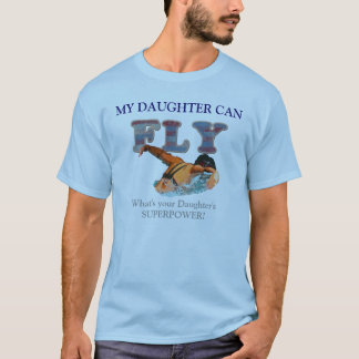 SWIM PARENT BUTTERFLY STROKE T-SHIRT