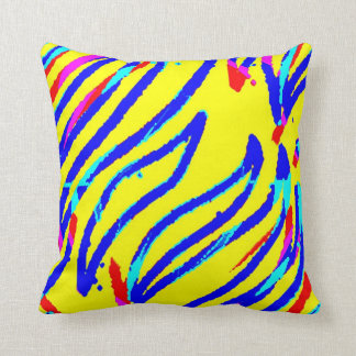 Swim Patty Throw Pillow