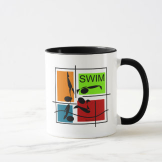 Swim Quartet Mug
