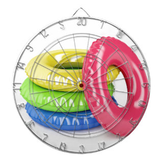 Swim rings dartboard