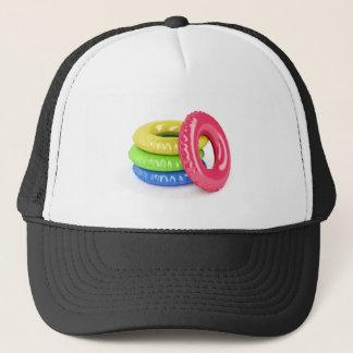 Swim rings trucker hat
