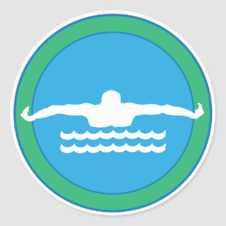 Swim Sticker