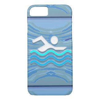 SWIM Swimmer Success Dive Plunge Success GIFTS iPhone 7 Case