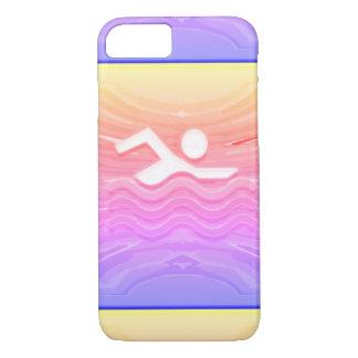 SWIM Swimmer Success Dive Plunge Success GIFTS iPhone 8/7 Case