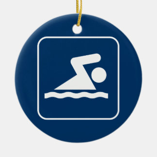 Swim Symbol Ornament