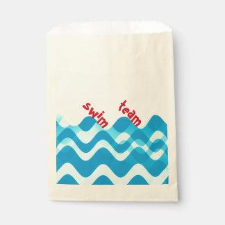 Swim Team Favour Bag