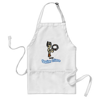swim time standard apron