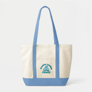 Swim Tote Bag - Cute Gift for Swim Coach