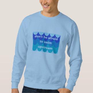 Swim Upstream Mens Large Sweatshirt