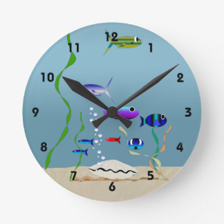 Swim With The Fishes Clock