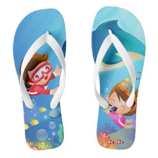 Swimabout Flip Flops
