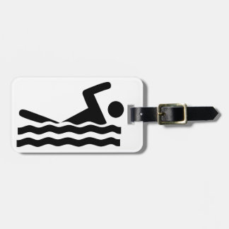 swimmer-297723  swimmer swimming water sports wave luggage tag