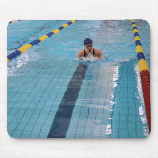 swimmer mouse pad