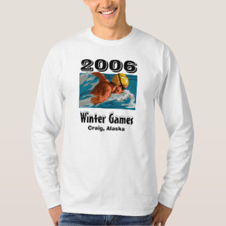 swimmer, Winter Games, 2006, Craig, Alaska T-Shirt