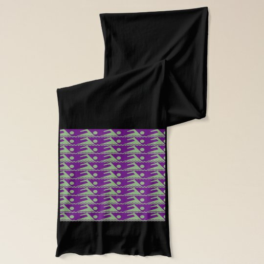 Swimmers - PurpBkg Scarves