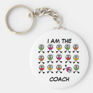 Swimmers TAXI - Bright Swim Characters Keyring