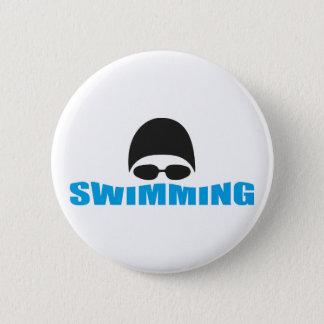 swimming 2 inch round button