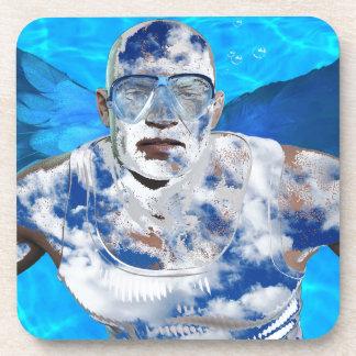 Swimming angel coaster