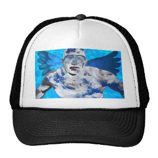 Swimming angel trucker hat