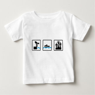 swimming baby T-Shirt