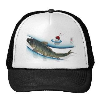 Swimming Carp Trucker Hat