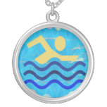 Swimming Champion Custom Jewelry