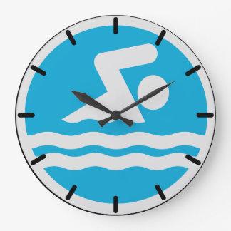 Swimming Clock for the Pool or Swim Coach's Office