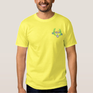 Swimming Crest Embroidered T-Shirt