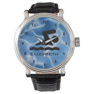 Swimming Design Watch