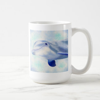 Swimming Dolphins mug