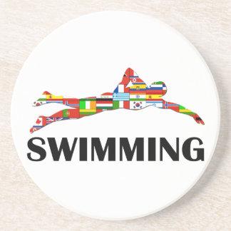 Swimming Drink Coaster
