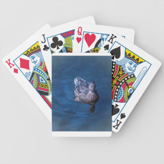 Swimming Duck Bicycle Playing Cards