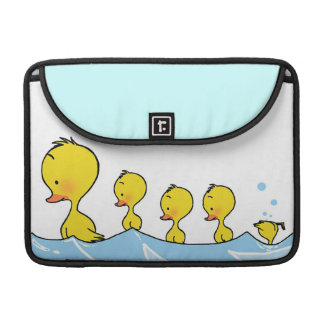 Swimming duck family sleeve for MacBook pro