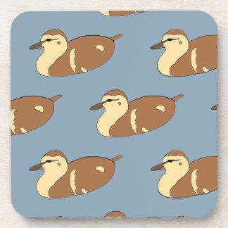 Swimming Ducks Beverage Coasters