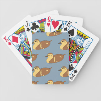Swimming Ducks Bicycle Playing Cards