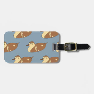 Swimming Ducks Luggage Tag