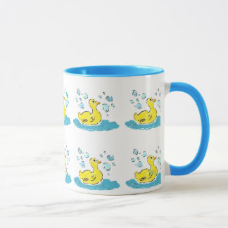 Swimming Ducks n Bubbles Mug