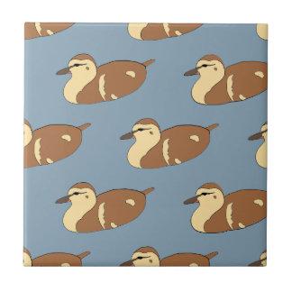 Swimming Ducks Tile