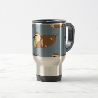 Swimming Ducks Travel Mug