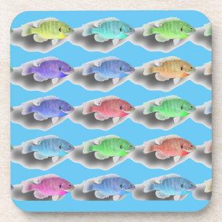 Swimming Fishies Drink Coaster