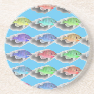 Swimming Fishies Drink Coasters