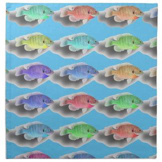 Swimming Fishies Napkin