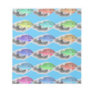 Swimming Fishies Notepad