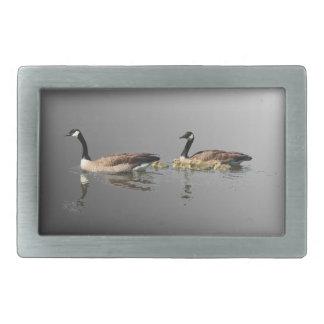 Swimming Geese Belt Buckle
