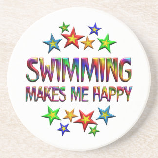 Swimming Happy Drink Coasters