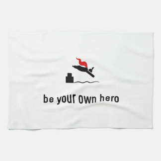 Swimming Hero Kitchen Towels