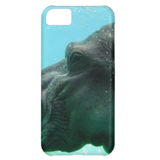 Swimming Hippo Case For iPhone 5C